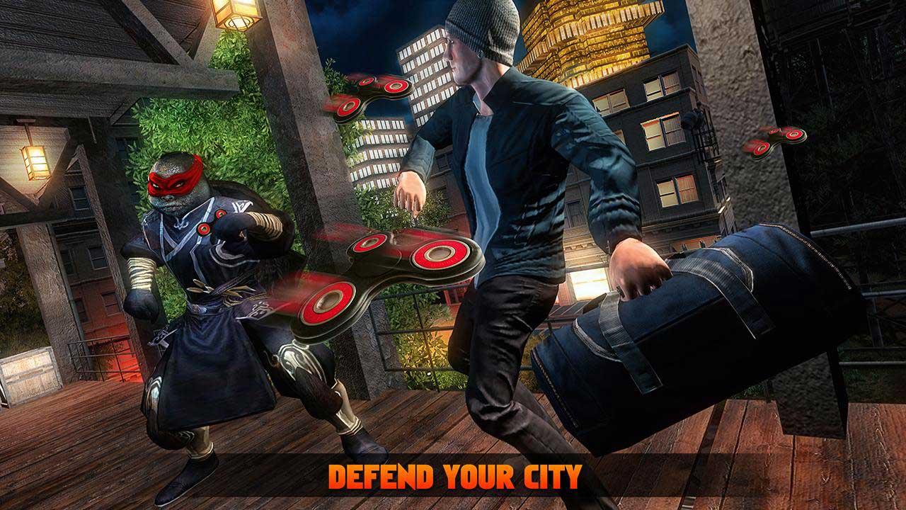 Turtle Hero Ninja Fighting Simulator 3D: Kill Crime City ...
