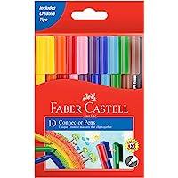 Faber-Castell Eğlenceli Keçeli Kalem, 10 Renk