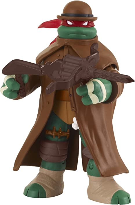 Teenage Mutant Ninja Turtles Monster Hunter Raphael Basic Action Figure, 5