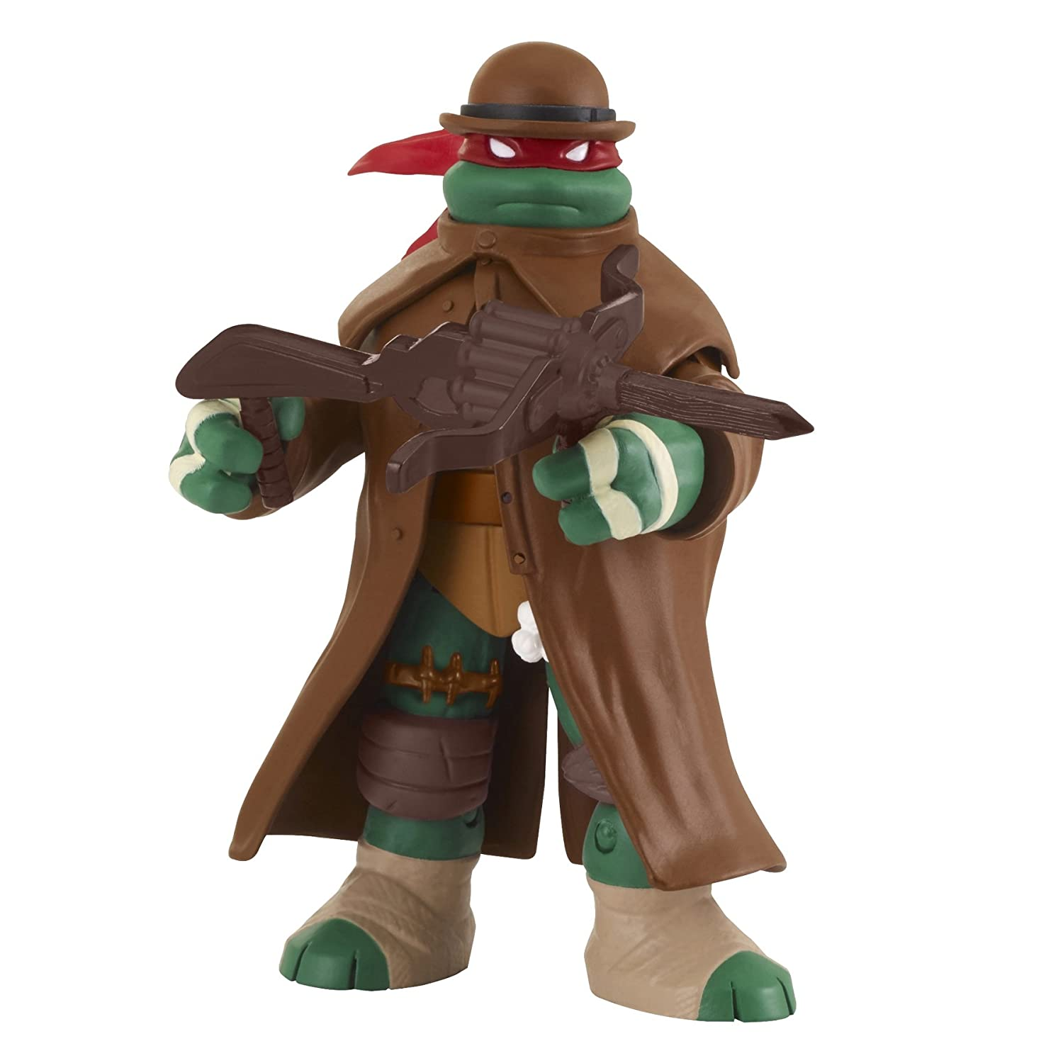Teenage Mutant Ninja Turtles Monster Hunter Raphael Basic Action Figure, 5""