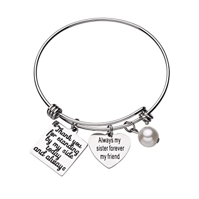 Amazon Cjm Wedding Gift Bridesmaid Bracelet Jewelry For Best