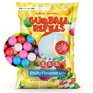 Gumballs for Gumball Machine Refill Bubble Gum 1lb