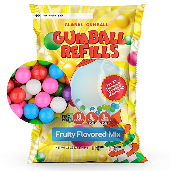 Top 10 Gumballs With No Food Coloring