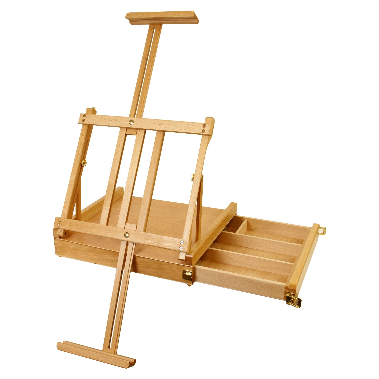 Table top drawing easel - Amazon Com Us Art Supply La Jolla 36 Inch Portable Tabletop Wood Sketchbox Easel With 4 Compartment Wooden Drawer