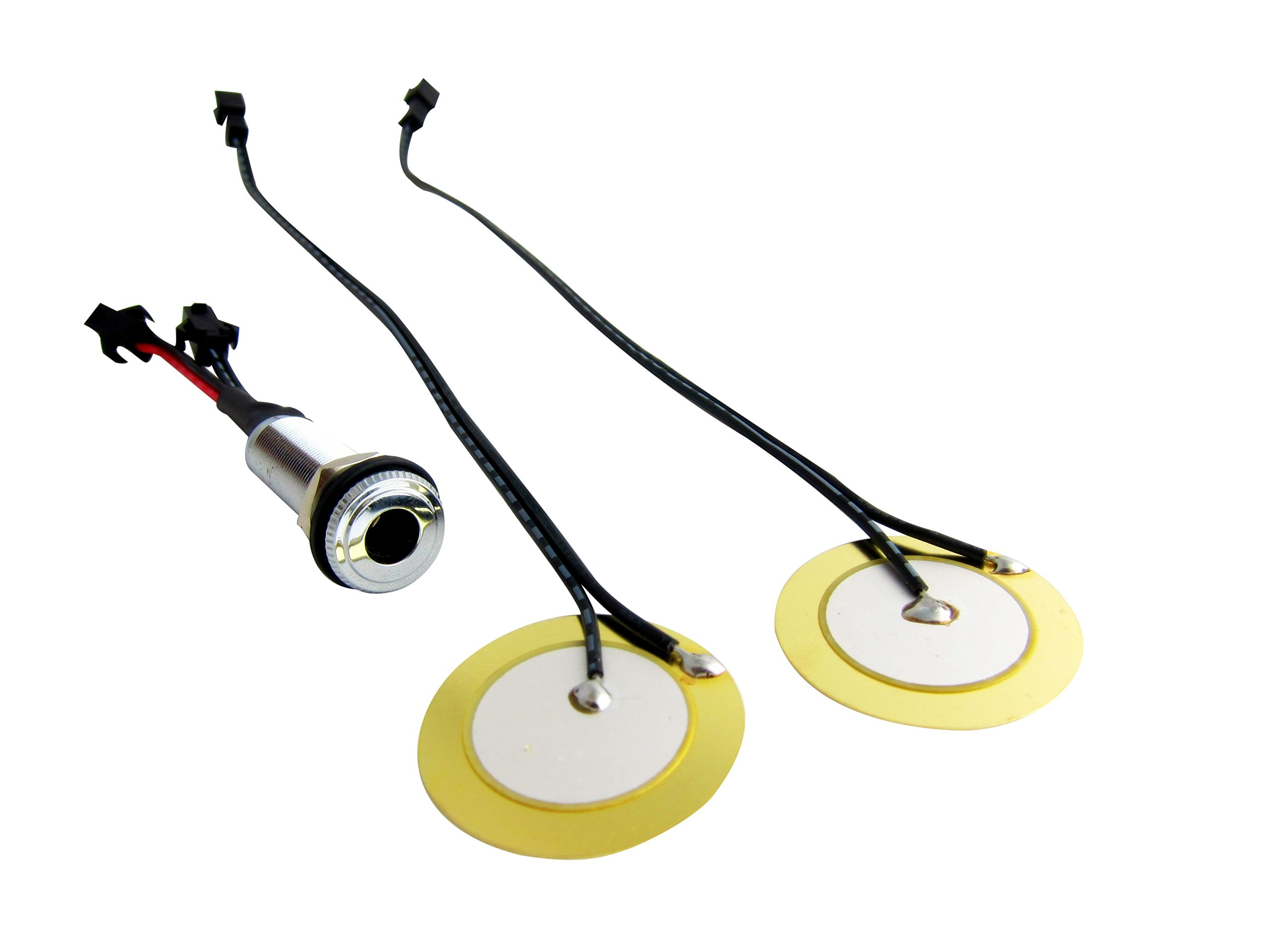 Goedrum Drum Dual Triggers for DIY electronic drum / For Use on Acoustic Wood Drum Shell