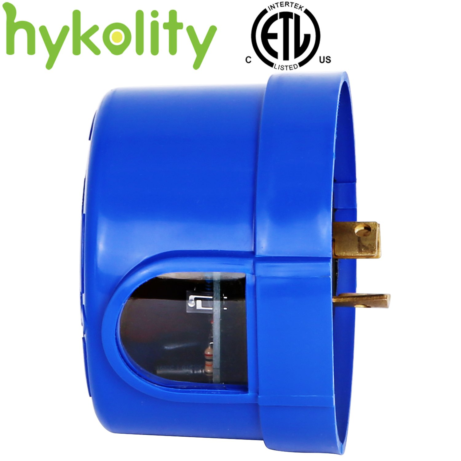 Hykolity Outdoor Twist to Lock Dusk to Dawn Auto On/Off Photocell Control Sensor 110-277V for Shoebox, Pole Lights, LED Street Lighting Fixture