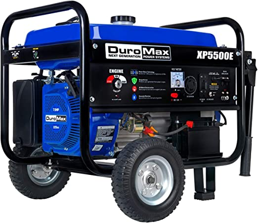 Amazon.com: DuroMax XP5500E generador portable a gasolina ...