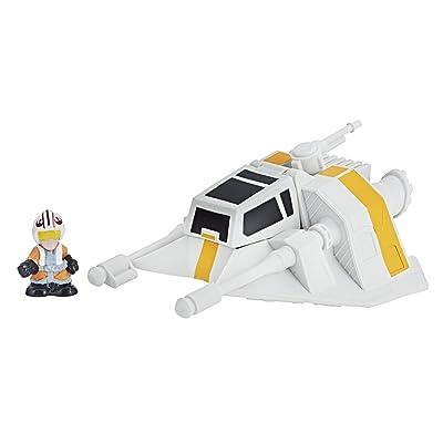 Star Wars Sw Luke with Snow Speeder: Toys & Games