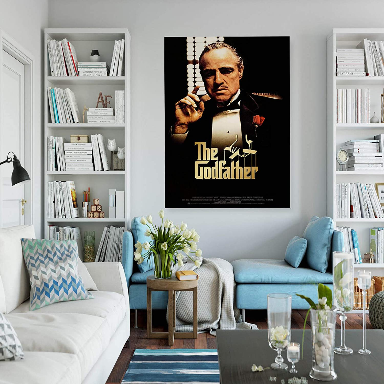 INNOGLEN Godfather The Boss Retro Vintage Photo New A0 A1 A2 A3 A4 Affiche Photo en Satin p11587h