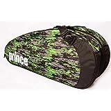 Prince 2016 Team (6-Pack) Tennis Bag (Black/Green)