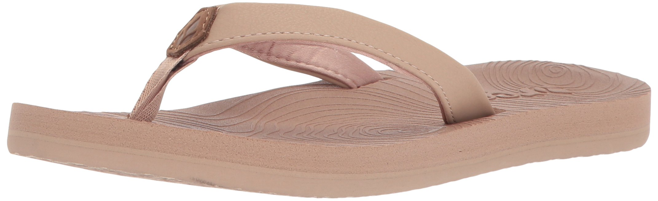 Reef Women's Zen Love Sandal, Nude, 9 M US
