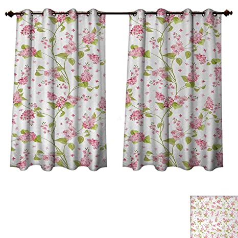 Sensational Amazon Com Anzhouqux Shabby Chic Blackout Curtains Panels Beutiful Home Inspiration Papxelindsey Bellcom