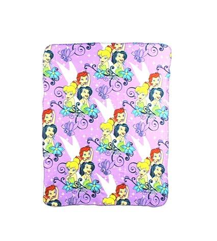 DisneyTinkerbell Autumn Fairy Character Fleece Throw Blanket 40 X Stunning Tinkerbell Fleece Throw Blanket