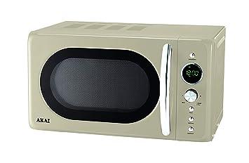 Akai AKMW203CR - Microondas (Encimera, Microondas con grill, 20 L ...