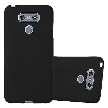 Cadorabo Funda para LG G6 en Frost Negro: Amazon.es: Electrónica