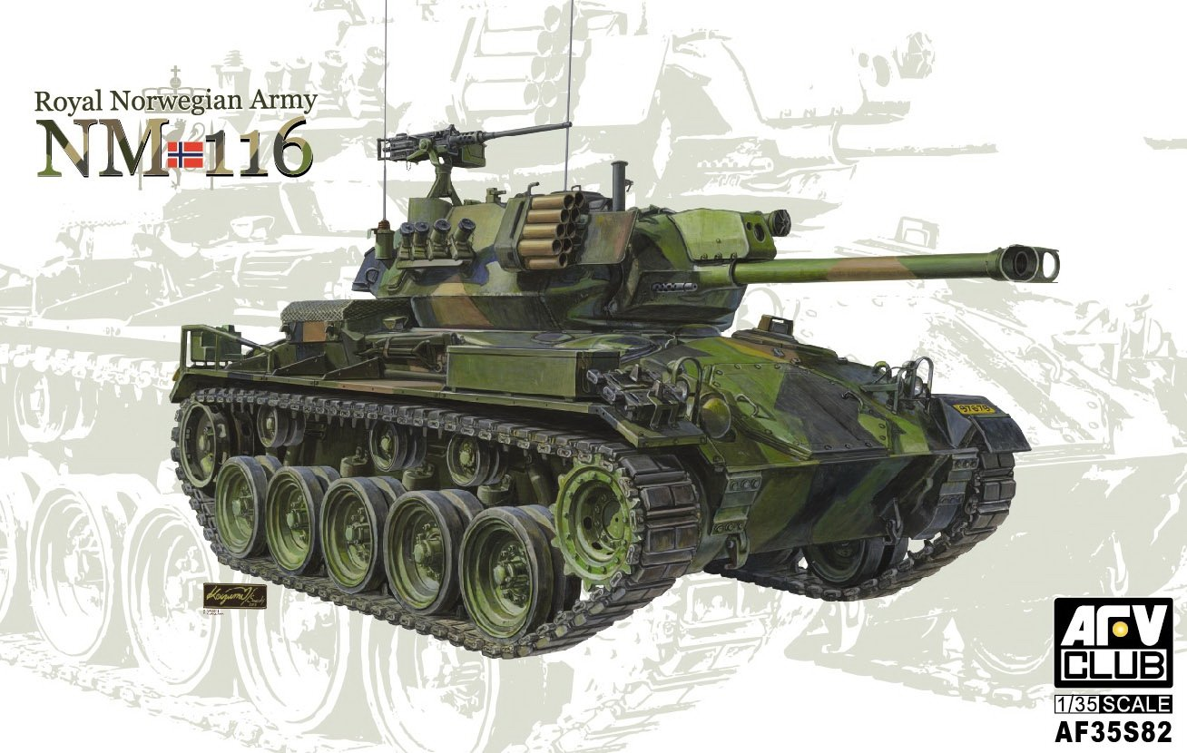 Unbekannt AFV Club AFV35S82-1//35 Norwegische Armee NM 116