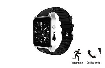 hangang X86 Smart Watch Phone Montre connectée Wifi SMS Appel notification synchronisation Bluetooth Smart Montre de