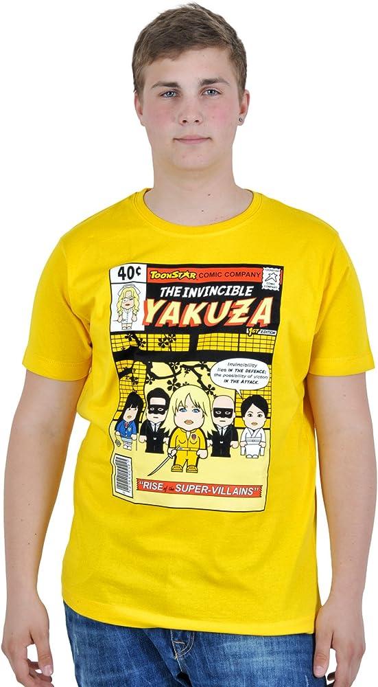 Kill Bill - camiseta Yakuza - al estilo de dibujos animados o ...