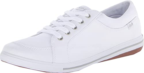 8e591178b90 Keds Women s Vollie Canvas Fashion Sneakers White  Amazon.ca  Shoes ...