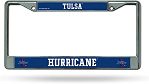 Rico Industries NCAA Fan Shop Standard Chrome License Plate Frame