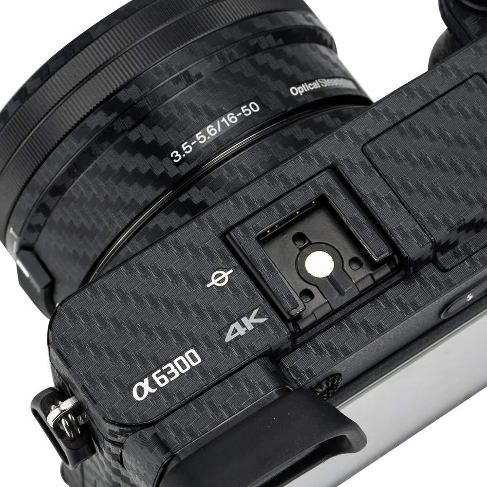 Adhesivo de protecci/ón antiara/ñazos para c/ámara Sony Alpha A7 II A7R II A7S II//A7II A7RII A7SII de Fibra de Carbono Antideslizante