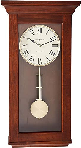 Howard Miller Continental Wall Clock 625-468 Wooden with Quartz Single Chime Movement