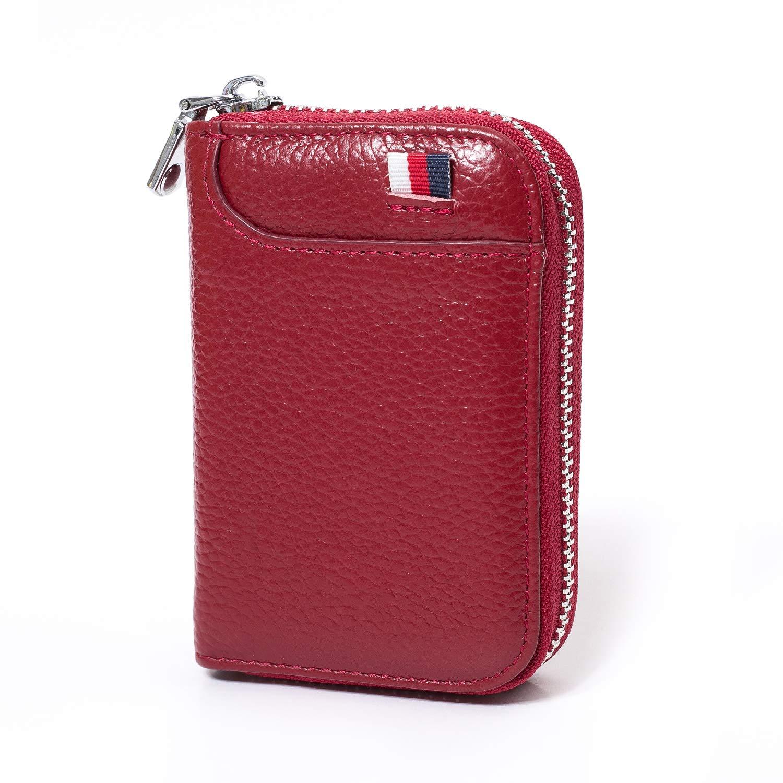 Genuine Leather Credit Card Holder RFID Credit Card wallet GJMY