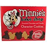 Disney Parks Disneyland Minnie's Bake Shop Assorted Chocolate and Vanilla Character Cookies 7 Ounces