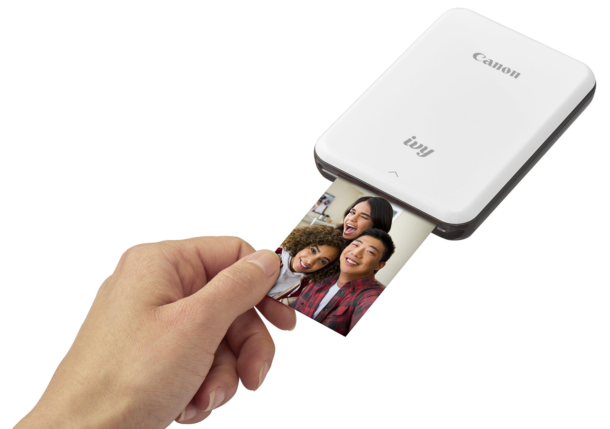 Canon IVY Mobile Mini Photo Printer through Bluetooth(R), Slate Gray by Canon (Image #2)