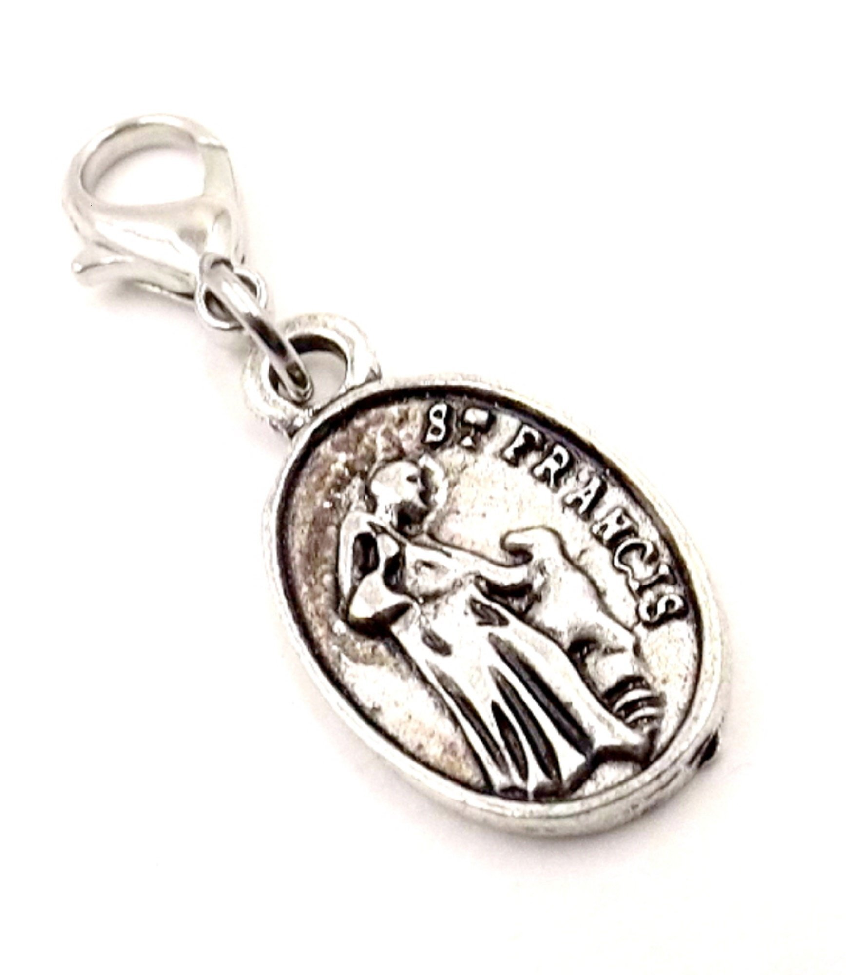 Bling Charm for Collar- St. Francis Prayer for Protection - Fur-baby - Pet collection - Dog/ Cat