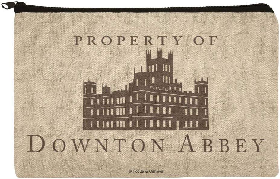 Downton Abbey Property of Pencil Pen Organizer Zipper Pouch Case