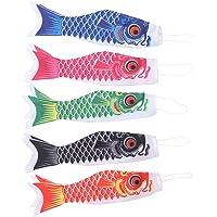 DOITOOL 5 Piezas Carpa Japonesa windsock Streamer Fish