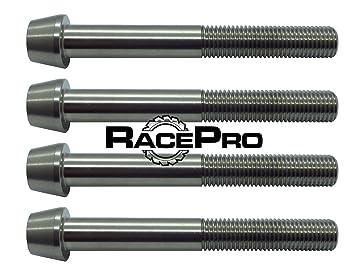 RacePro - 4x Tapered Titanium Caliper Bolt GR5 Kawasaki ZX6R