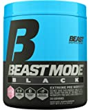 Beast Sports Nutrition, (Old Formula) Beast Mode Black, Pink Lemonade, 30 Servings