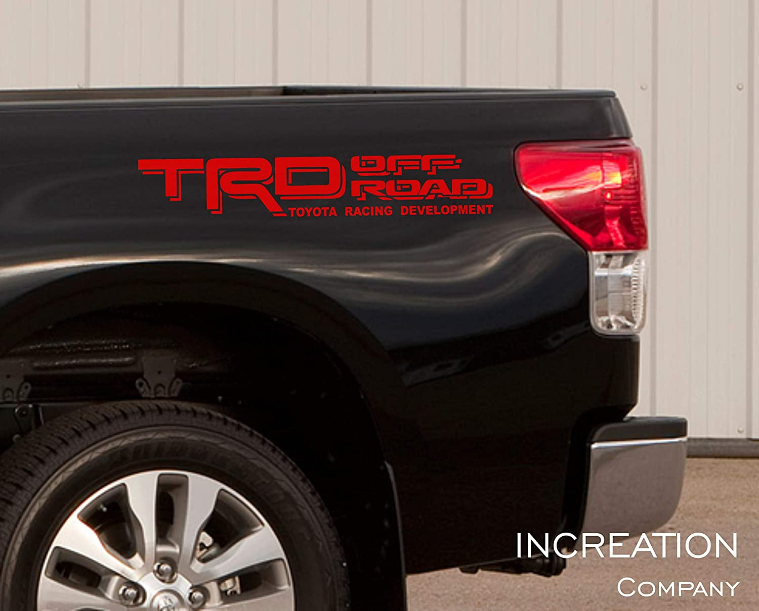 Toyota Tacoma Vinyl Decal Sticker Graphics Kit TRD Sport Side Door x2 ANY COLOR
