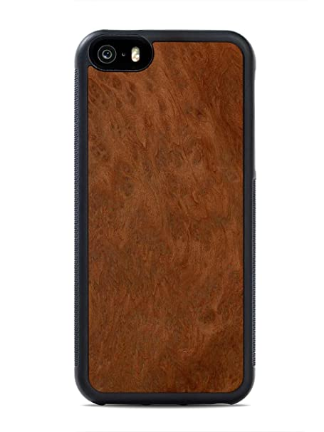 outlet store a44cd 23932 iPhone 5 / 5s / SE Redwood Burl Wood Traveler Case by Carved, Unique Real  Wooden Phone Cover (Rubber Bumper, Fits Apple iPhone 5 / 5s / SE)