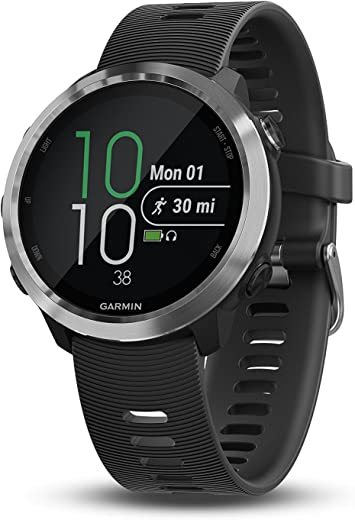 Garmin Forerunner 645, GPS Running Watch with Pay Contactless Payments and Wrist-Based Heart Rate, Black