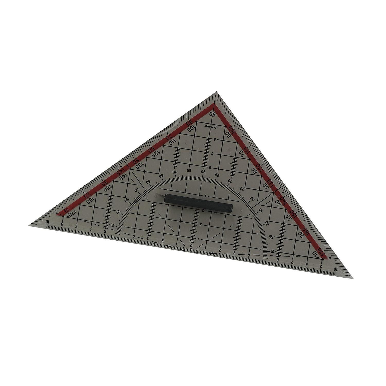 Herlitz Geometrie-Dreieck gro/ß mit Griff 1 St/ück in Klarsichtpackung