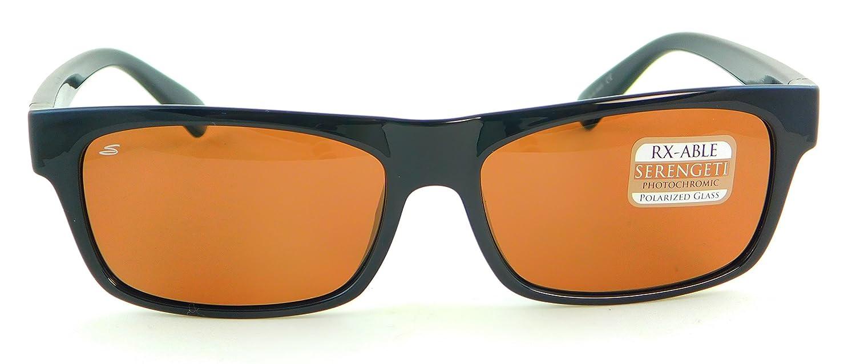 Serengeti Rapallo Gafas de Sol, Color Negro Satinado, tamaño Small: Amazon.es: Deportes y aire libre