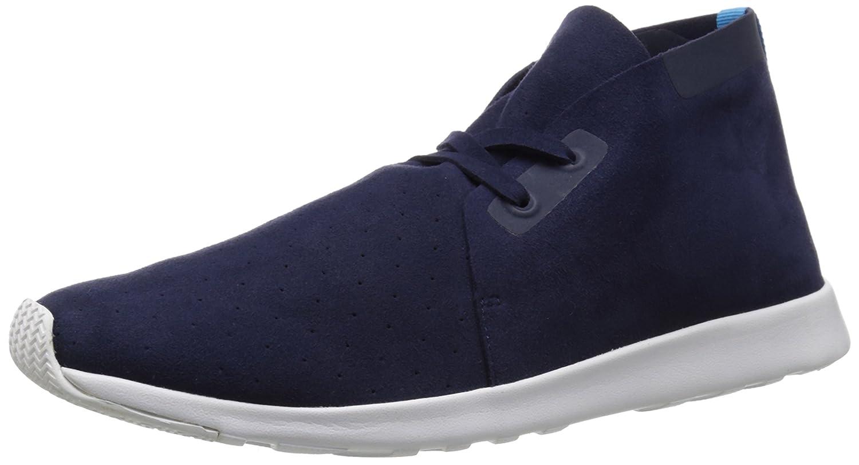 native Men's Apollo Chukka Fashion Sneaker B00QFW6UTC 10 D(M) US|Regatta Blue/Shell White/Shell White Rubber