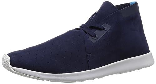Unisex Sneakers Native Shoes Apollo Chukka Jiffy Black/Shell White/Shell White Rubber E438S3324E