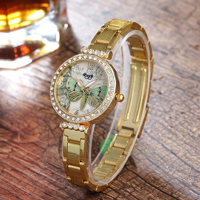 Powzz ornament Smartwatches Reloj De Mujer Cinturón Fino Y ...