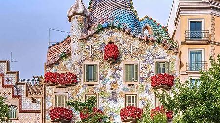 CZYSKY Casa Batlló, Barcelona, España, Rompecabezas De 1500 Piezas Puzzle Juguete De Madera (87 * 57 Cm): Amazon.es: Hogar
