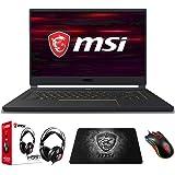 "MSI GS65 Stealth-1668 (i7-9750H, 16GB RAM, 1TB NVMe SSD, GTX1660Ti 6GB, 15.6"" Full HD 144Hz 3ms, Windows 10) VR Ready Gaming"