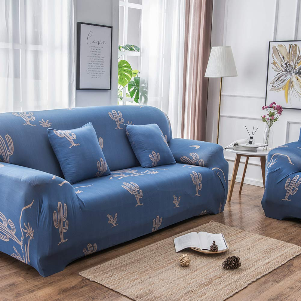 HshDUti Funda de sofá elástica Envolvente Flamingo Cactus ...