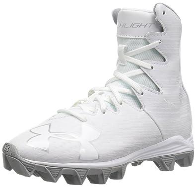 2e039a478638a Amazon.com | Under Armour Kids' Highlight Rm Jr. Football Shoe ...