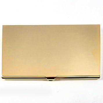 Charles Hendon Personalisierte Visitenkartenhalter Gold