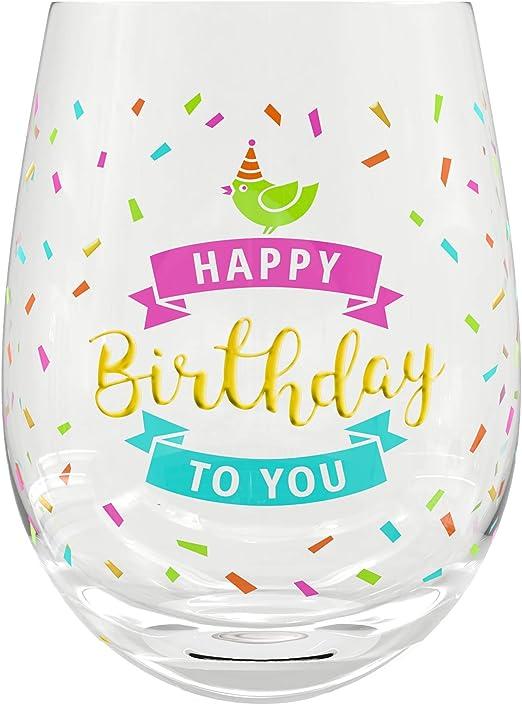 Amazon.com: Copa de vino de regalo de 60 cumpleaños ...