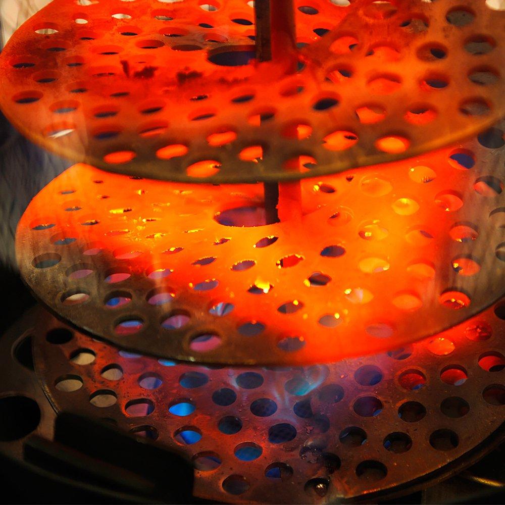 Amazon.com : Lava Heat Italia   AMAZON 107   Brushed Copper Finish    Natural Gas Configuration : Space Heaters : Garden U0026 Outdoor