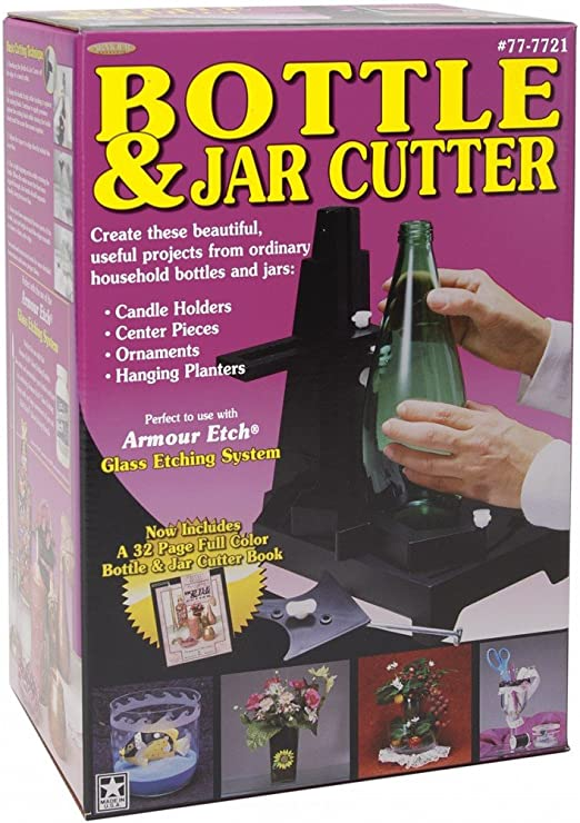Armour Bottle and Jar Cutter now you can cut odd shaped bottles and jars!